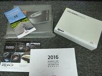 2016 Kia Rio Sedan Hatchback Owner Owner's Manual User Guide Book LX EX SX