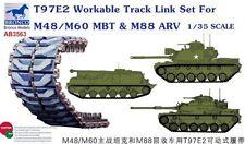 BRONCO AB3563 1/35 T97E2 Workable Track Link Set For M48/M60 MBT & M88  ARV