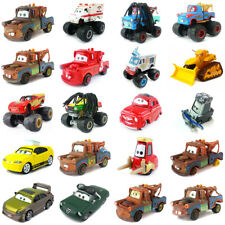 Disney Pixar Cars King McQueen Chick Hicks Holly Lizzie 1:55 Coche de Juguete Modelo De Regalo