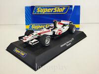 Slot Car Scalextric SuperSlot H2716 Honda F1 RA106 Rubens Barrichello Nº 11