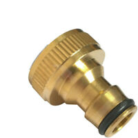 Brass Adaptor for garden outdoor Tap. Adapter for Hozelock quick Hose Connector