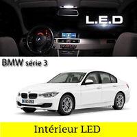 Kit 18 ampoules à LED pour l'éclairage intérieur Blanc BMW série 3  F30