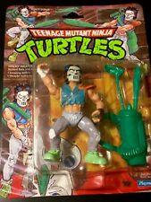 TMNT Teenage Mutant Ninja Turtles CASEY JONES Action Figure Playmates 1989 MOC