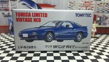 TOMICA LV-N192b MAZDA SAVANNA RX-7 GT-X NEW IN BOX LIMITED VINTAGE NEO