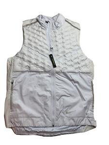 New (Men's Size XL) Nike Aeroloft Running Gray 3M ($180) Vest Gilet (BV4862-085)