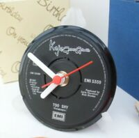 *new* KAJAGOOGOO VINYL RECORD SINGLE CLOCK - actual RECORD CENTRE DESK TABLE