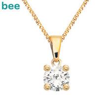 Diamond Gold Fine Necklaces & Pendants
