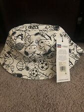 Levi'S Peanuts Snoopy Sport reversible bucket hat light blue Japan Limited Psl