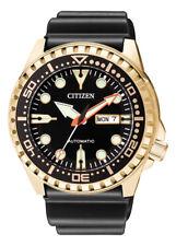 CITIZEN Automatic Promaster Diving Watch Men Watch nh8383-17e Analogue Rubber SC