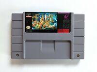 EVO Search For Eden - Rare Snes Super Nintendo Game - Authentic Cart & Board
