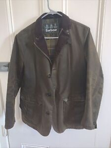 Barbour Lutz wax jacket Small