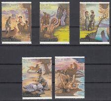 Sowjetunion 6009 - 6013 postfrisch 200. Geburtstag von James Fenimore Cooper
