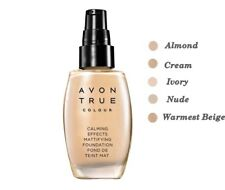 AVON True Colour Calming Effects Mattifying Foundation 30ml Normal to Oily Skin