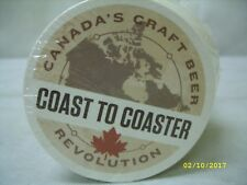 (100) Canadian Craft Beer Brewers Revolution - Coast to Coaster - Drink Coasters