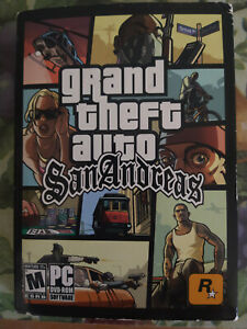 """Grand Theft Auto: San Andreas (PC DVD - ROM) - """"AO Rating"""" First Edition (V1.00)"""