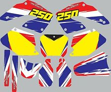 Graphic Kit for 2000-2001 Honda CR250 CR 250 shrouds fender plastic decals