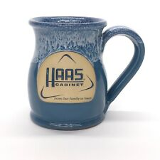 Deneen Pottery 16 oz Coffee Cup Mug HAAS Cabinet Company 2016 Handthrown USA