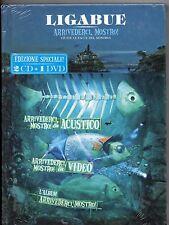 LIGABUE  2 CD + DVD ARRIVEDERCI MOSTRO LIVE ACUSTICO nuovo SIGILLATO sealed 2010