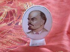 CCCP USSR RITRATTO PORCELLANA 100 ANNI NASCITA LENIN ORIGINALE URSS 1970 ovale