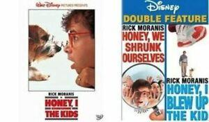 Honey I Shrunk the Kids, Honey We Shrunk Ourselves, Blew Up The Kids DVD SET NEW