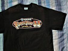 ROLLING ROCK TOWN FAIR 33 JULY 2002 Godsmack Outkast POD Black T-shirt sz. Large
