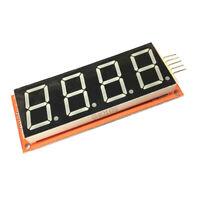 """0.8"""" 4 Bits Digital Tube LED Display Module Circuit Board For Arduino DIY"""
