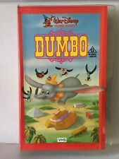 WALT DISNEY CLASSIC ~ DUMBO ~ VERY RARE PAL CLAMSHELL VHS VIDEO ~ 84 MINUTES