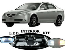 LED Package - Interior + License Plate + Vanity for Acura TL (16 pieces)