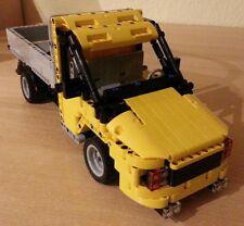 Bauanleitung instruction Pritsche Transporter Eigenbau Unikat Moc Lego Technic