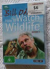 BILL ODDI'S HOW TO WATCH WILDLIFE SERIES 1 (DVD, 2-DISC) R-4, LIKE NEW FREE POST
