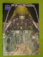 THE VINTAGE MOTOR CYCLE / SEPT 2010 / GRAHAM WILLIAMS( 72, SEELEY WESLAKE)