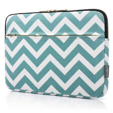 """17.3"""" Laptop Notebook Sleeve Case Bag Cover For Lenovo HP Dell Macbook Blue Wave"""