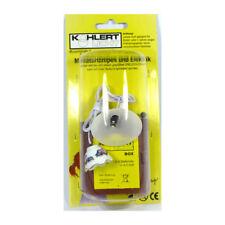 Kahlert 19897 LED Hanging Lamps Set with Batteriebox 3,5V 1:12 for Dollhouse New