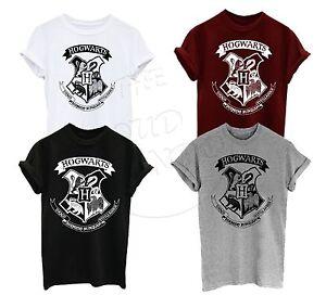Harry Potter Hogwarts Crest Logo Fan Fashion Unisex Adult, Kids Tshirt Top