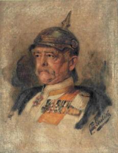Bundeskanzler Otto von Bismarck Wandbild