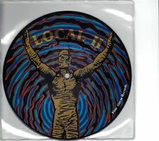 Local H / The Blank Theory - Split - RARE Picture Disc 7 Inch Vinyl Record NEW
