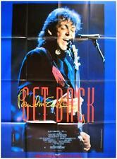 GET BACK Movie Poster / Affiche Cinéma ORIGINALE PAUL McCARTNEY