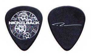 Nickelback Ryan Peake Signature Black Guitar Pick 2012 Tour
