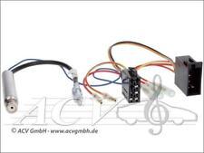 Seat Skoda Radio ISO Radio Adapter mit Phantomeinspeisung + DIN Antenne Stecker