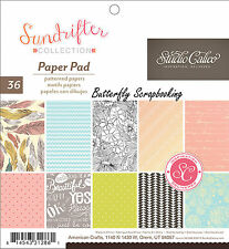 Sundrifter Collection Scrapbooking 6x6 Paper Pad Studio Calico American Crafts