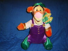 "Disney Store Exclusive Tigger Elf Christmas Plush 13"""