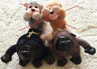 Love Animal Gorilla Stuffed Soft Plush Toy Key Charm Chain Ring Bag Mobile JAPAN
