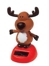 Toysmith Dancing Dudley Solar Reindeer Toy