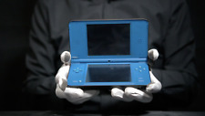 Nintendo DSi XL Console Blue PAL - 'The Masked Man'