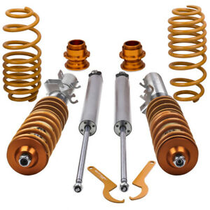 Coilover Suspension fit Audi TT Coupe Roadster 8N 1.8T 1998-2006 Coilovers Kit