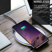 Wireless Charger Dock Pad Mat For iPhone XS / XR / XS Max Samsung Huawei