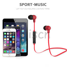 Bluetooth Wireless Headset Stereo Headphone Earphone Handfree Sport for Phone RE