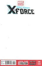 UNCANNY X-FORCE #1 Blank Sketch Marvel Comics NM 2013