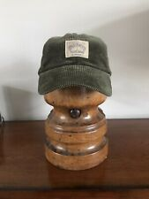 Ralph Lauren Polo Corduroy Baseball Dad Cap Leather Strap Green Country US Hat