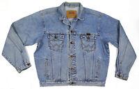 Vintage Wrangler Western Trucker Denim Jeans Jacket L